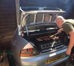 Barbecue Lancer EVO