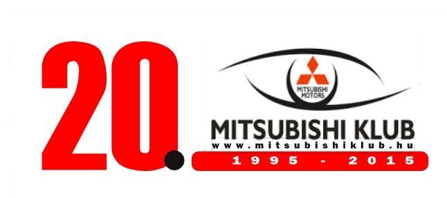 20 éves a Mitsubishi Klub Egyesület