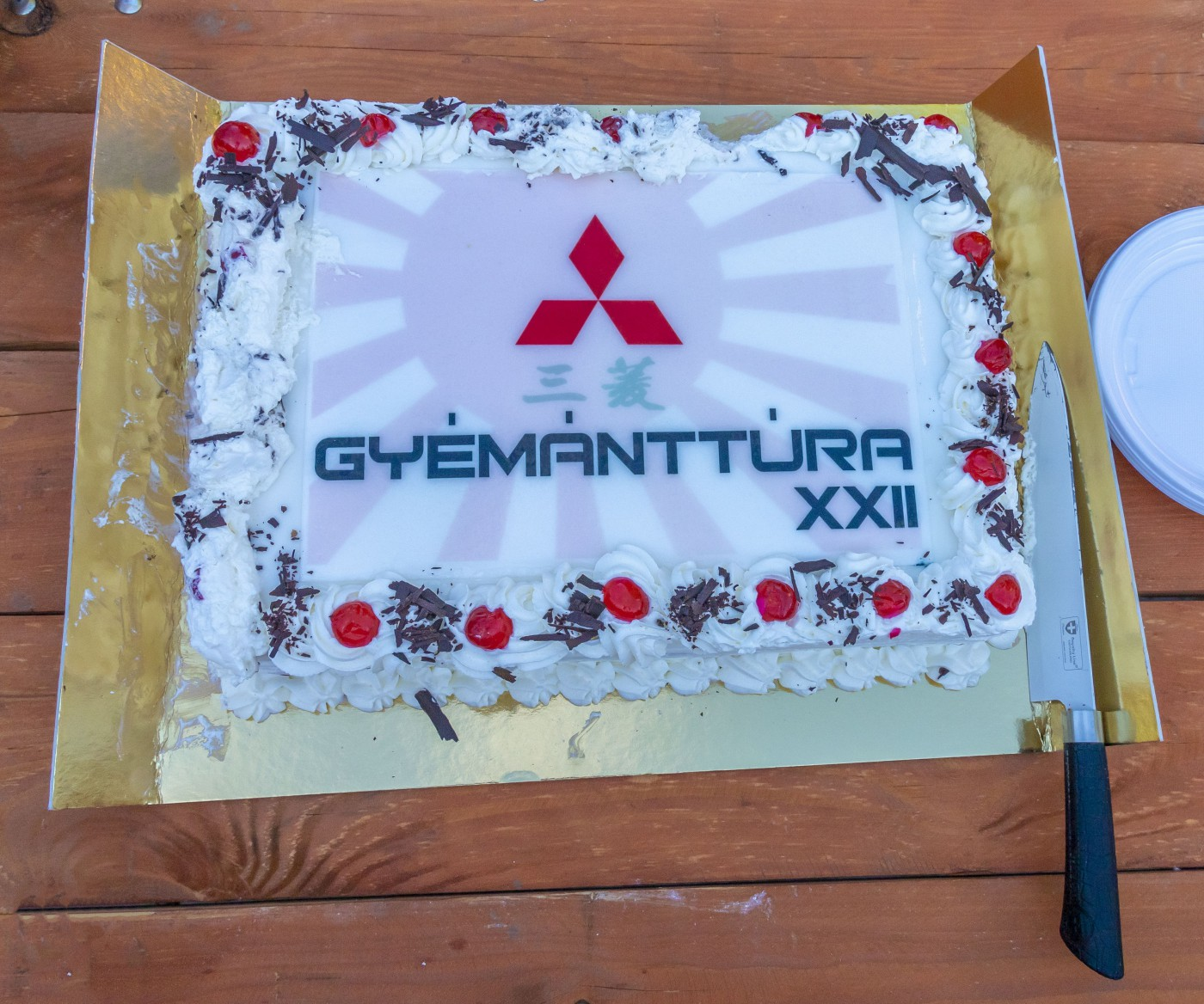 Gyémánttúra 2019 torta