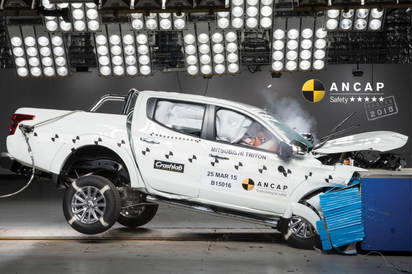 ANCAP teszt 2015 Mitsubishi Triton